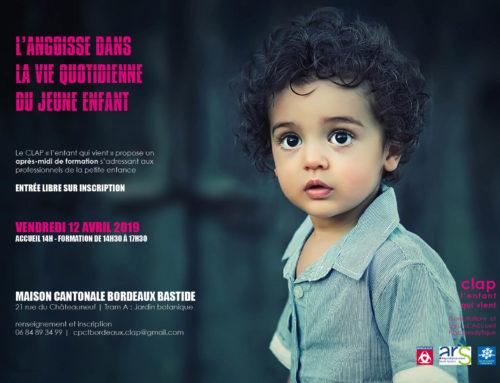 Formation CLAP | L'angoisse dans la vie quotidienne du jeune enfant